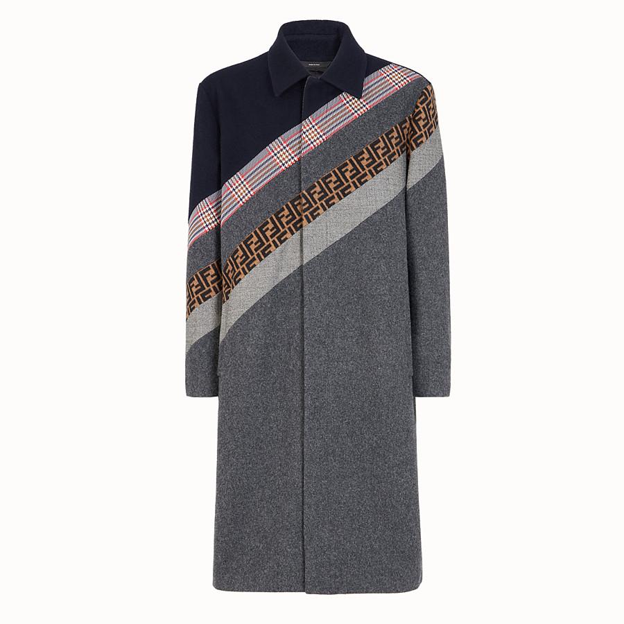 FENDI 外套 - 拼色羊毛外套 - view 1 detail