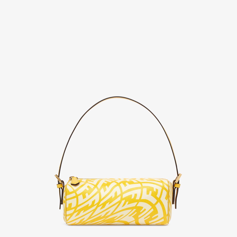 FENDI MINI BAG - Yellow glazed canvas mini-bag - view 1 detail