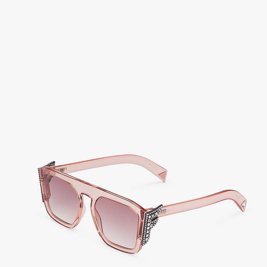 FENDI FFREEDOM - Pink sunglasses - view 2 detail