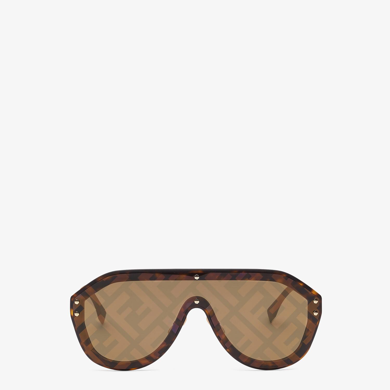 FENDI FENDI FABULOUS - Brown sunglasses - view 1 detail