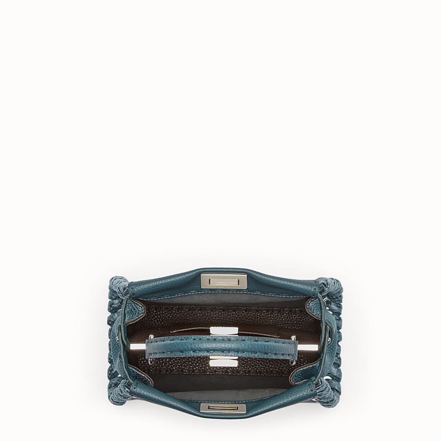 FENDI PEEKABOO MINI - Green Selleria handbag - view 4 detail