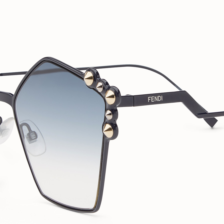 FENDI CAN EYE - Blue sunglasses - view 3 detail