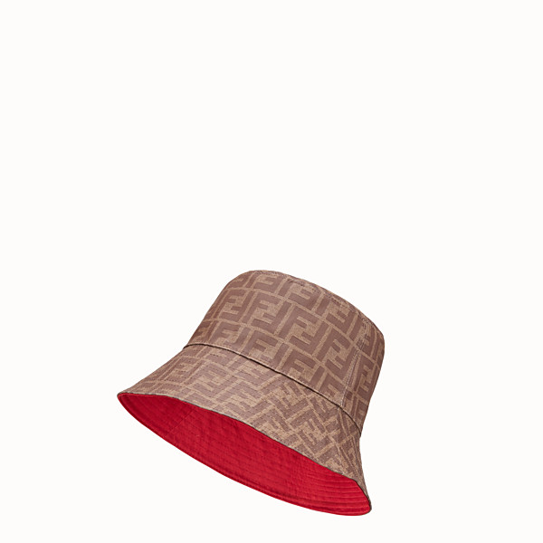 FENDI HAT - Brown fabric hat - view 1 small thumbnail