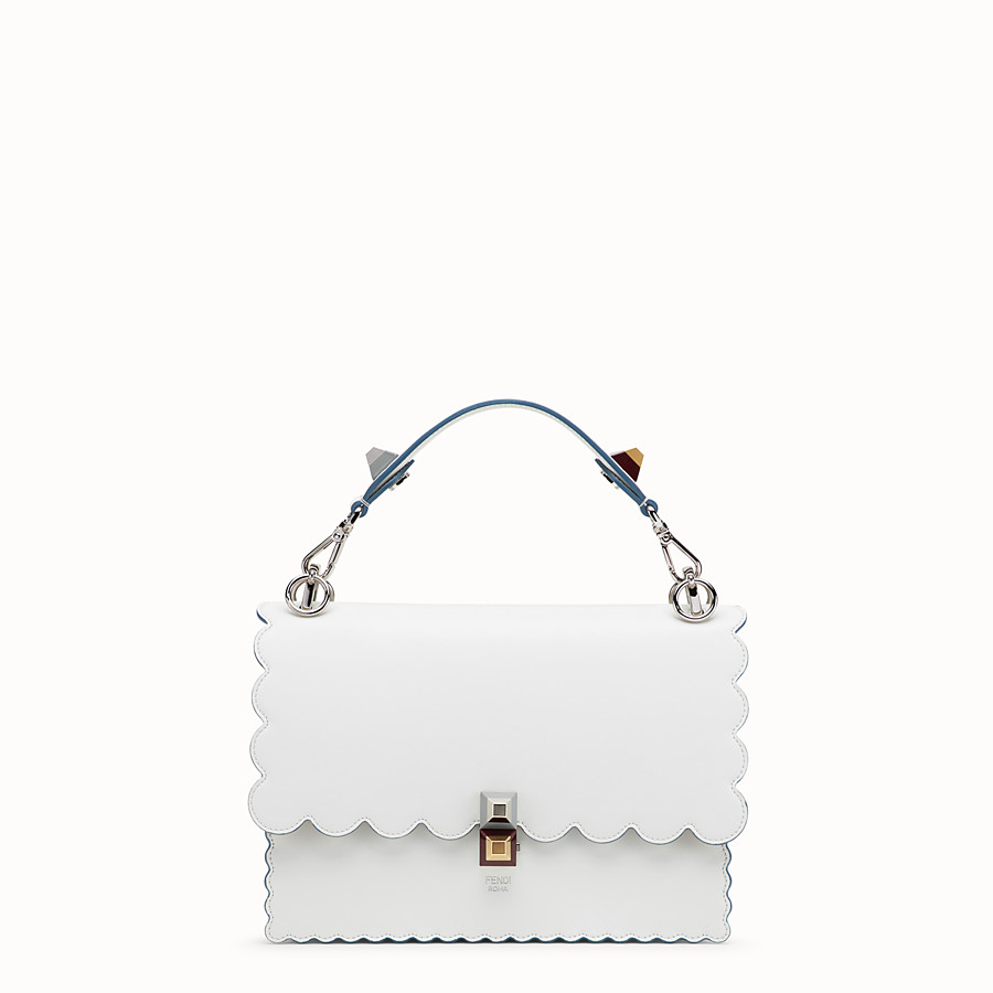 FENDI KAN I - White leather bag - view 1 detail
