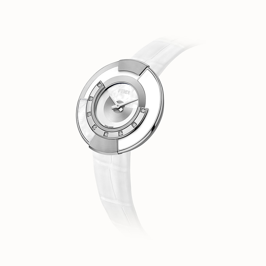 FENDI POLICROMIA - 38 mm - Watch with diamonds and mother-of-pearl - view 2 detail