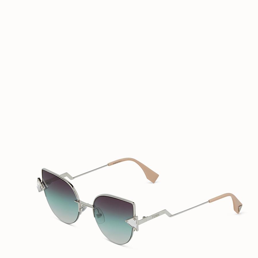 FENDI RAINBOW - Palladium sunglasses - view 2 detail