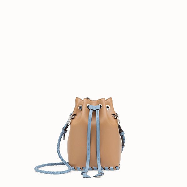 FENDI MON TRESOR - Brown leather mini-bag - view 1 small thumbnail