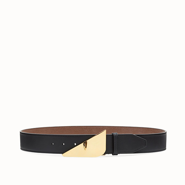 FENDI BELT - Black leather belt - view 1 small thumbnail