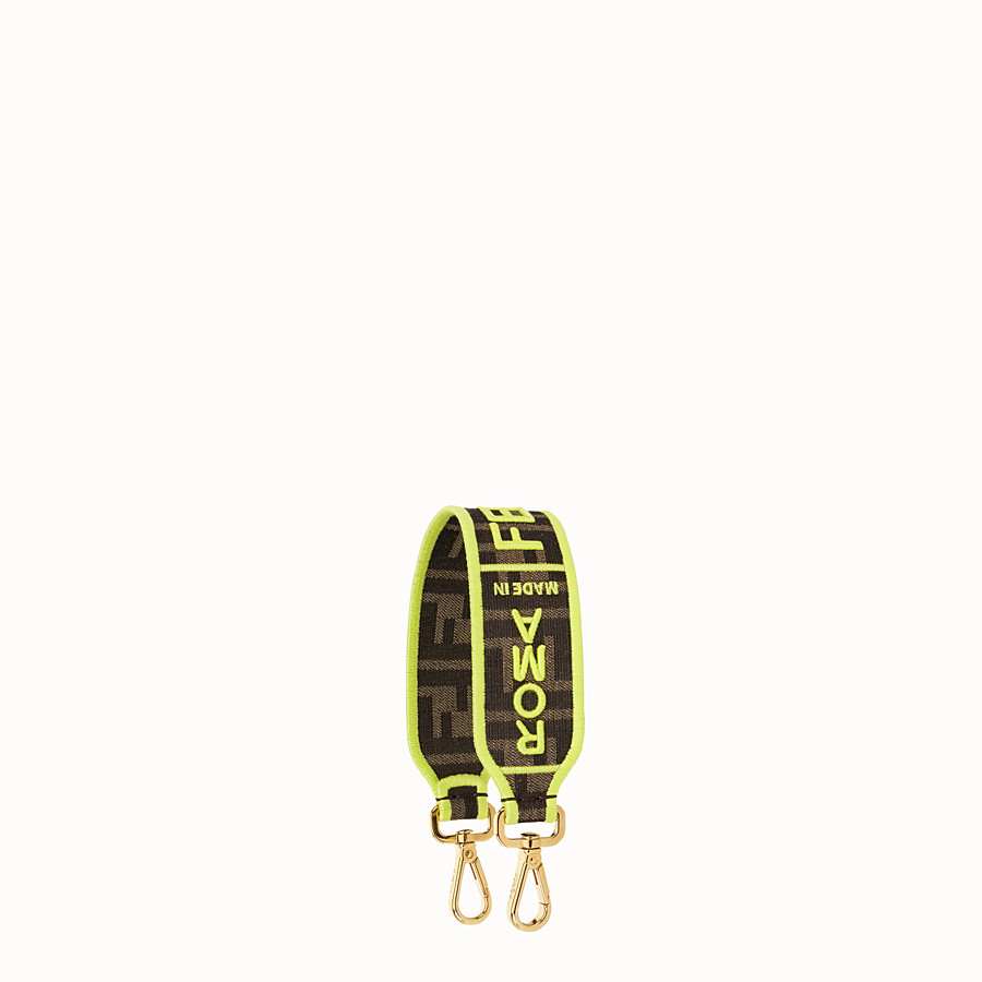 FENDI MINI STRAP YOU - Fendi Roma Amor fabric shoulder strap - view 1 detail