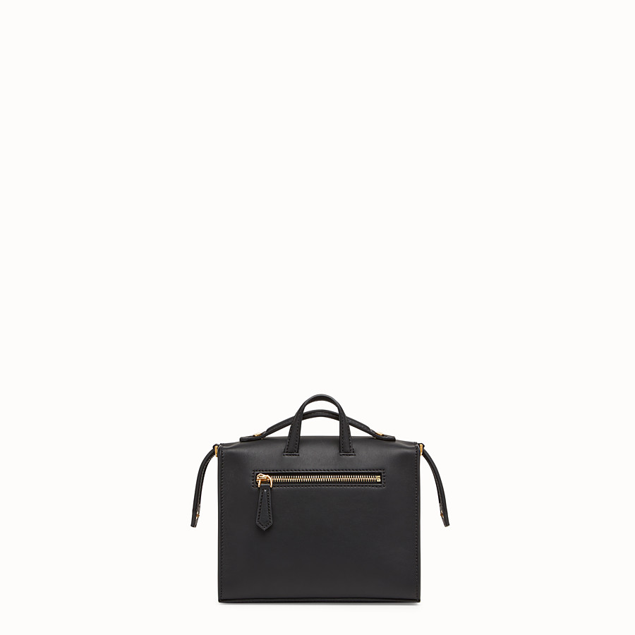 FENDI MINI LUI BAG - Black leather bag - view 3 detail