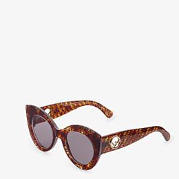 FENDI F IS FENDI - Havana FF sunglasses - view 2 thumbnail