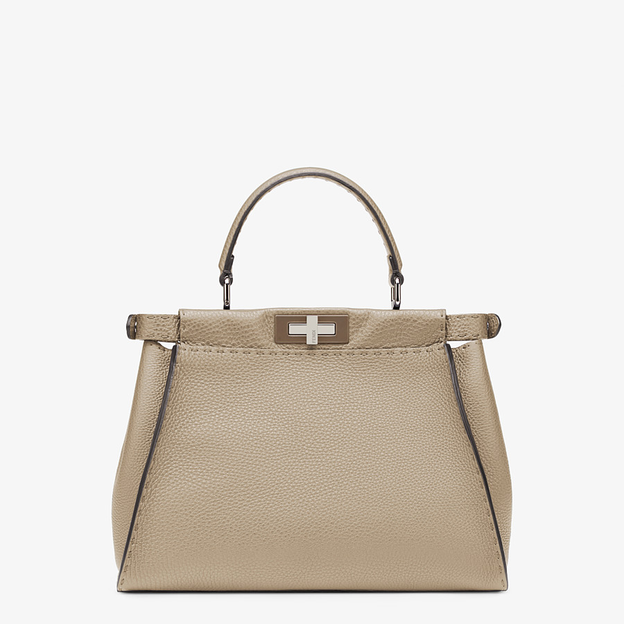 FENDI PEEKABOO ICONIC MEDIUM - Beige Selleria handbag - view 4 detail