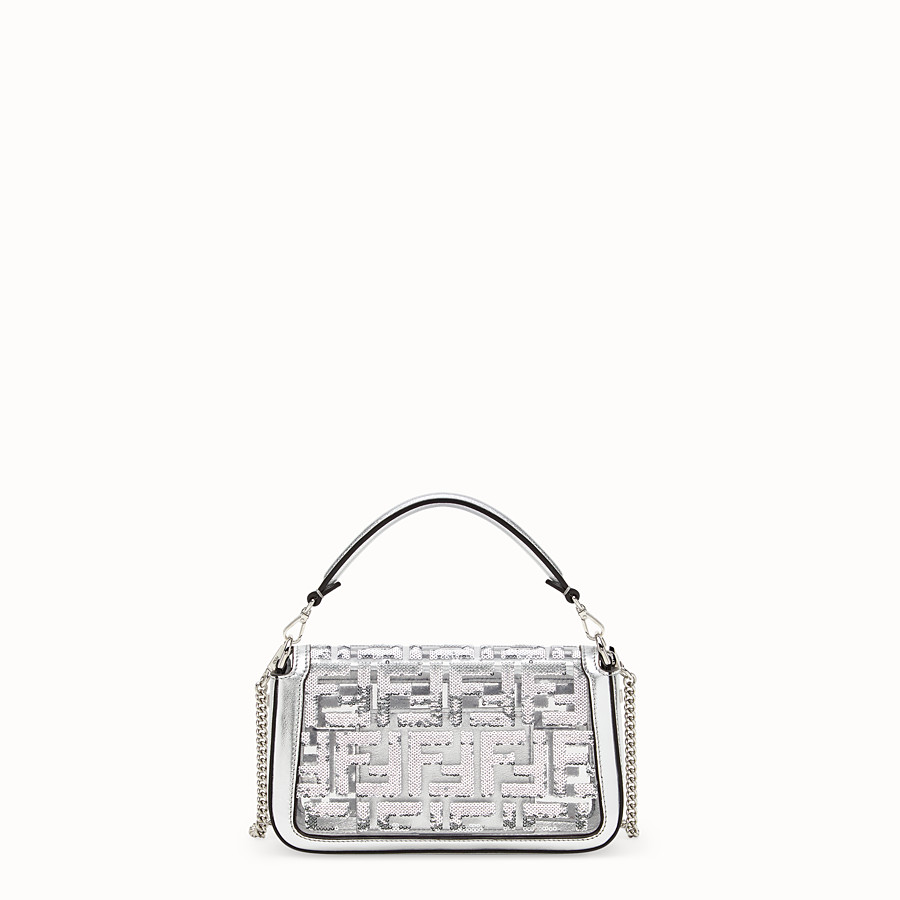 FENDI BAGUETTE MINI - Transparent PVC bag - view 3 detail