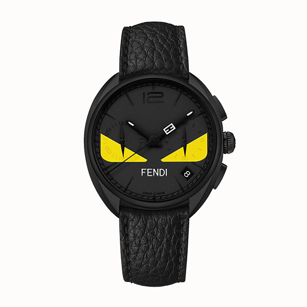 FENDI MOMENTO FENDI BUGS - 40 mm - Chronograph watch with strap - view 1 small thumbnail