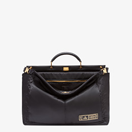 FENDI PEEKABOO MEDIUM FENDI AND PORTER - Black nylon bag - view 1 thumbnail