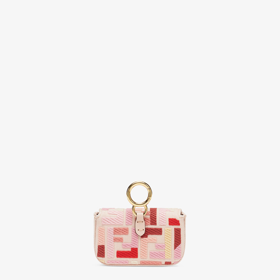 FENDI NANO BAGUETTE CHARM - Charm from the Lunar New Year Limited Capsule Collection - view 3 detail