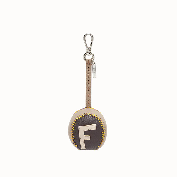 FENDI BAG CHARM BASEBALL - Charm in pelle multicolor - vista 1 thumbnail piccola