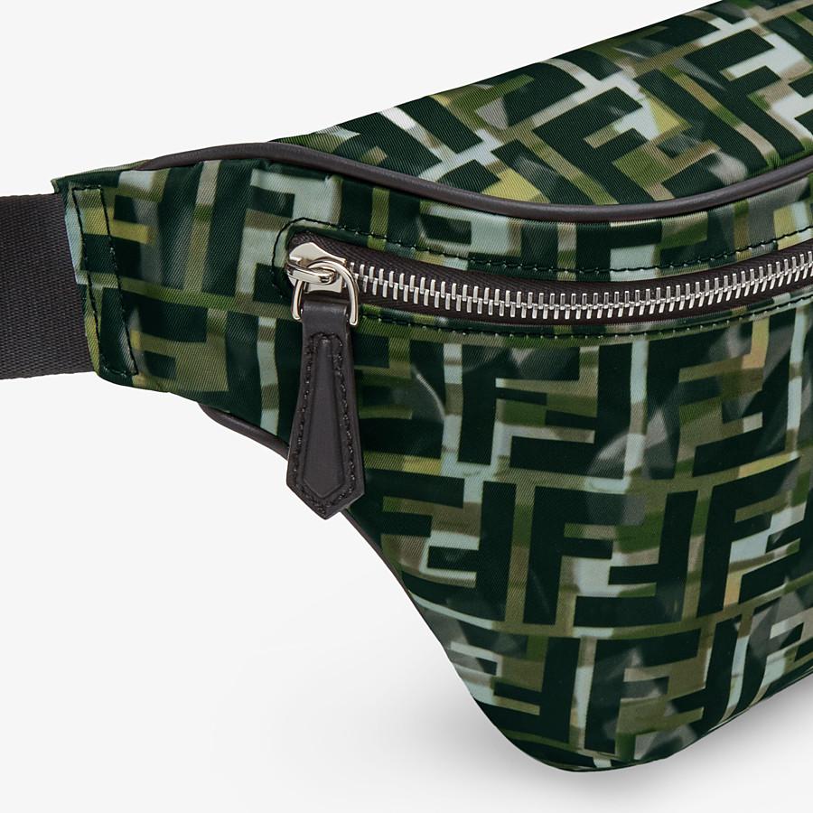FENDI BELT BAG - Multicolor nylon belt bag - view 5 detail