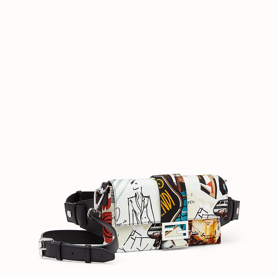 FENDI BAGUETTE - Tasche aus Nylon Mehrfarbig - view 2 detail