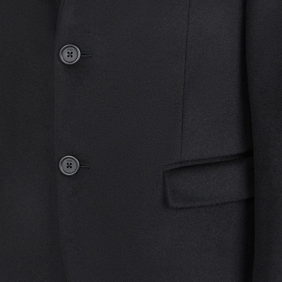 FENDI JACKET - Black cashmere blazer - view 4 detail