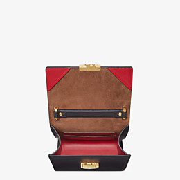 FENDI KAN U SMALL - Black leather mini-bag - view 4 thumbnail