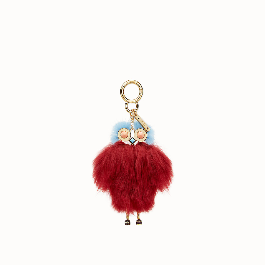 FENDI TEEN WITCHES CHARM - Red alpaca charm - view 2 detail