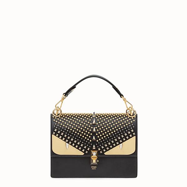 FENDI KAN I - Black leather bag - view 1 small thumbnail