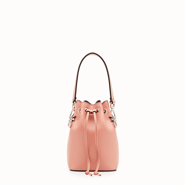 FENDI MON TRESOR - Mini-Tasche aus Leder in Rosa - view 1 small thumbnail
