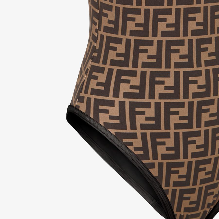 FENDI ONE-PIECE SWIMSUIT - Black Lycra swimsuit - view 3 detail