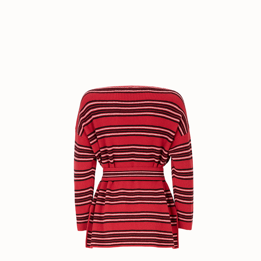 FENDI JUMPER - Multicolour wool and cashmere jumper - view 2 detail