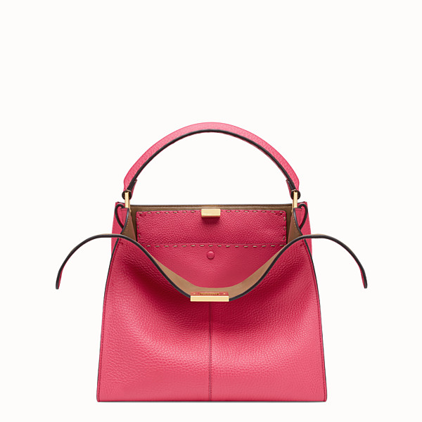 FENDI PEEKABOO X-LITE MEDIUM - Borsa Fendi Roma Amor in pelle - vista 1 thumbnail piccola