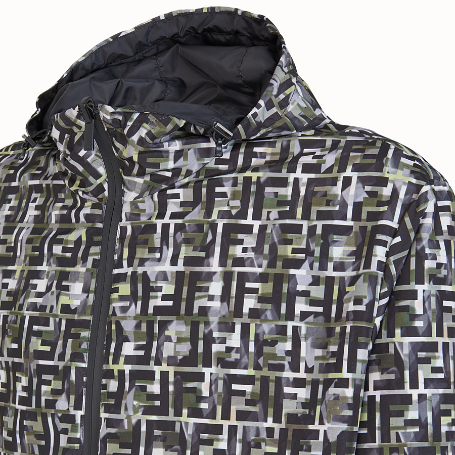 FENDI BLOUSON JACKET - Multicolour nylon jacket - view 3 detail