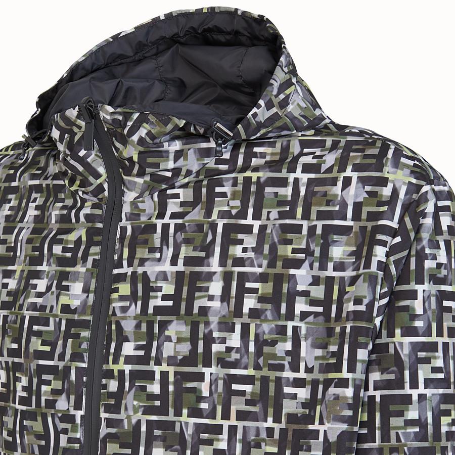 FENDI BLOUSON JACKET - Multicolour nylon jacket - view 3 detail