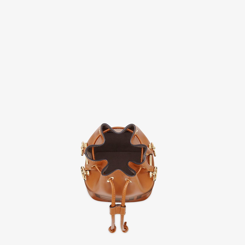 FENDI MON TRESOR - Brown leather mini-bag - view 5 detail