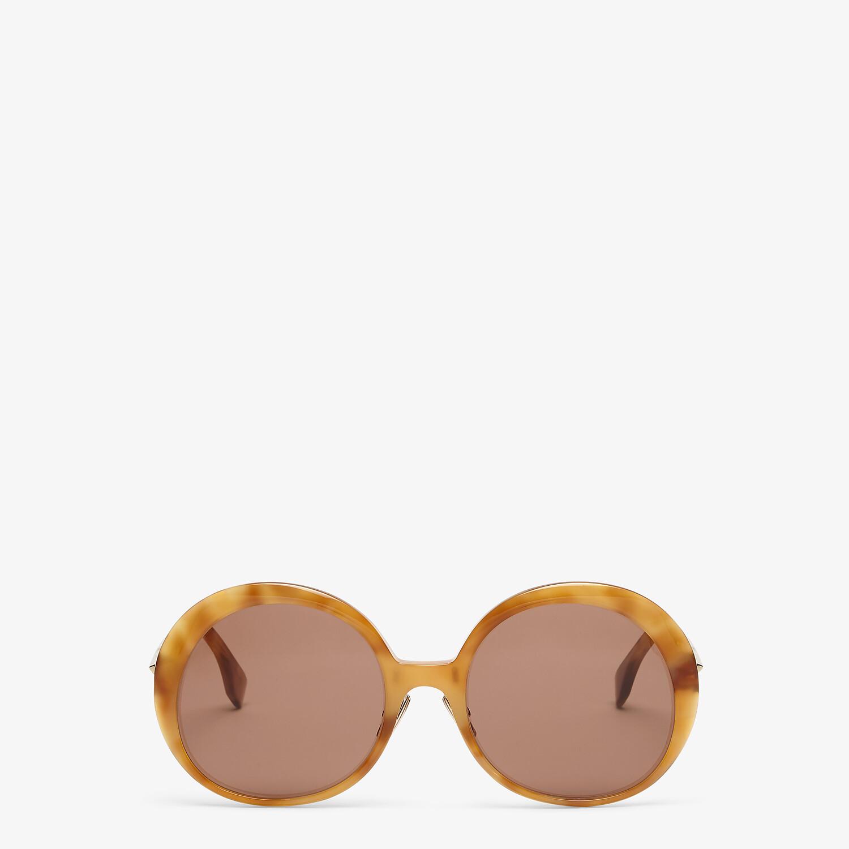 FENDI PROMENEYE - Gafas de sol marrones - view 1 detail