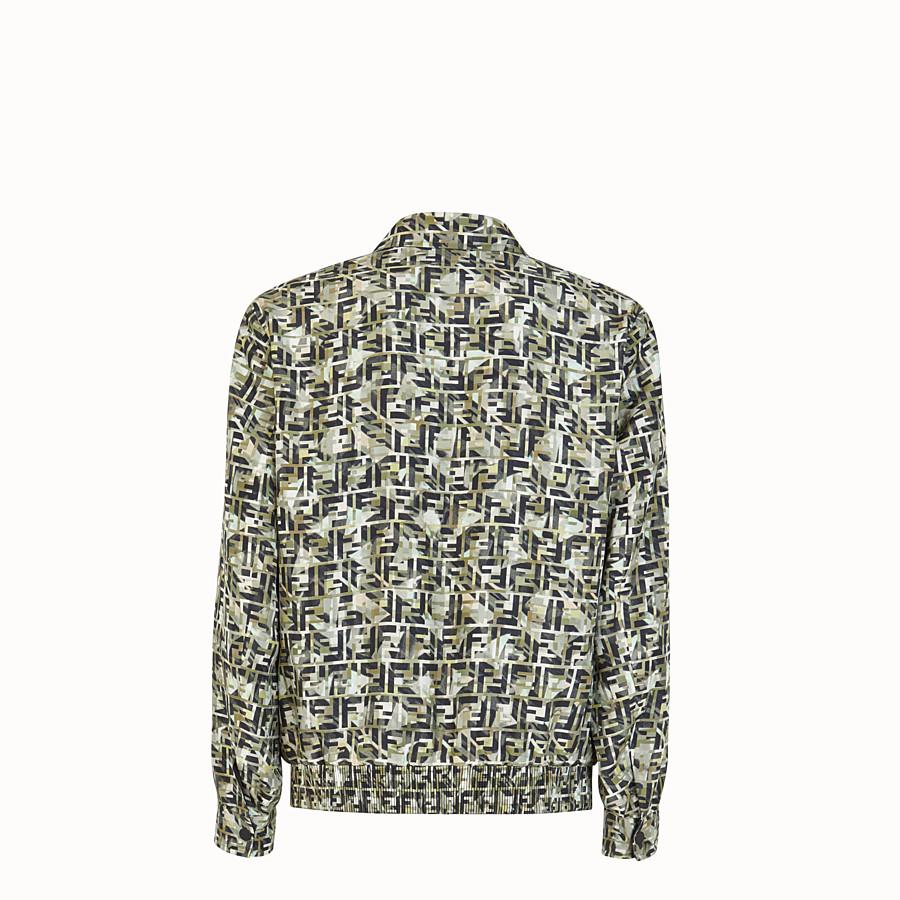 FENDI BLOUSON JACKET - Multicolour silk jacket - view 2 detail