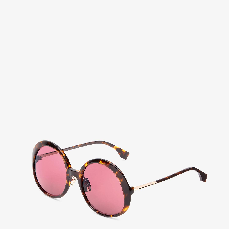FENDI PROMENEYE - Brown sunglasses - view 2 detail