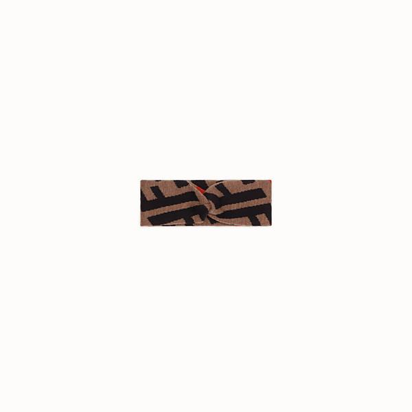 FENDI BAND - Brown cotton band - view 1 small thumbnail