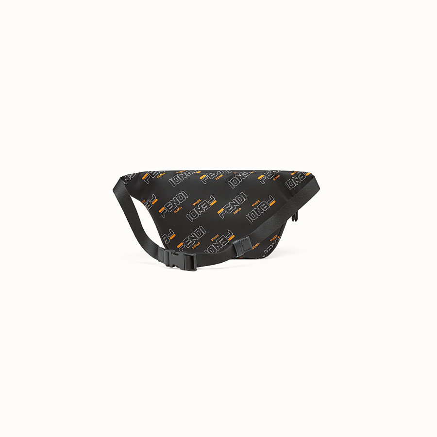 FENDI BABY BELT BAG - Black nylon belt bag - view 2 detail