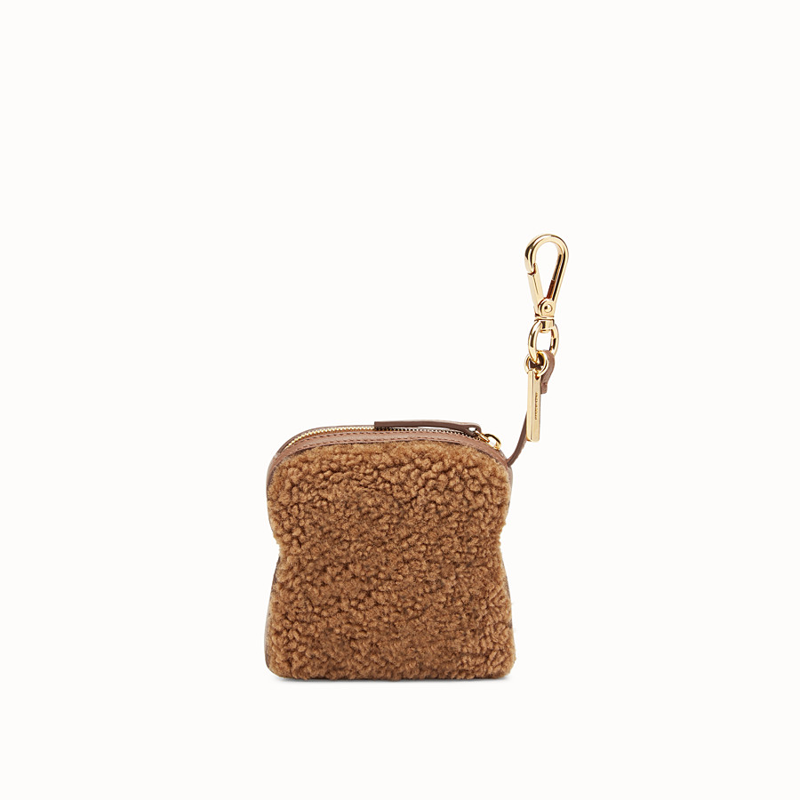 FENDI TOAST BAG CHARM - Charm in montone multicolor - vista 2 dettaglio
