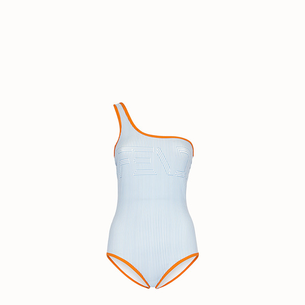 FENDI ONE-PIECE SWIMSUIT - Multicolour tech fabric swimsuit - view 1 small thumbnail