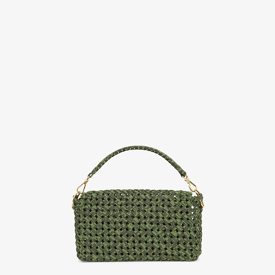 FENDI BAGUETTE - Jacquard fabric interlace bag - view 4 detail