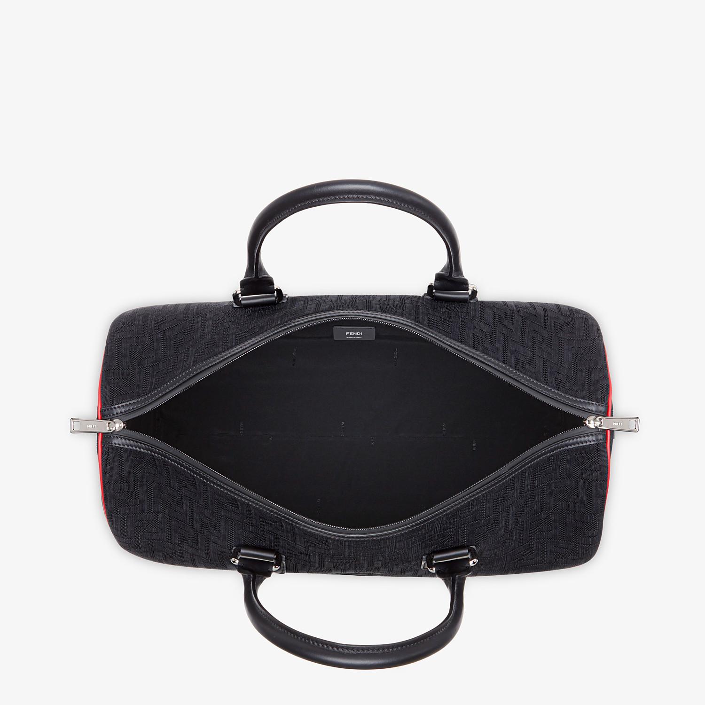 FENDI TRAVEL BAG - Large bag in black tech fabric - view 4 detail