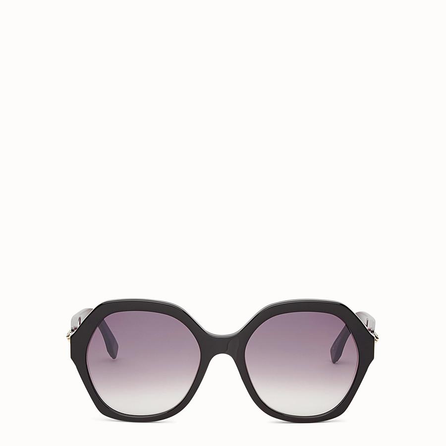 FENDI FUN FAIR - Black sunglasses - view 1 detail