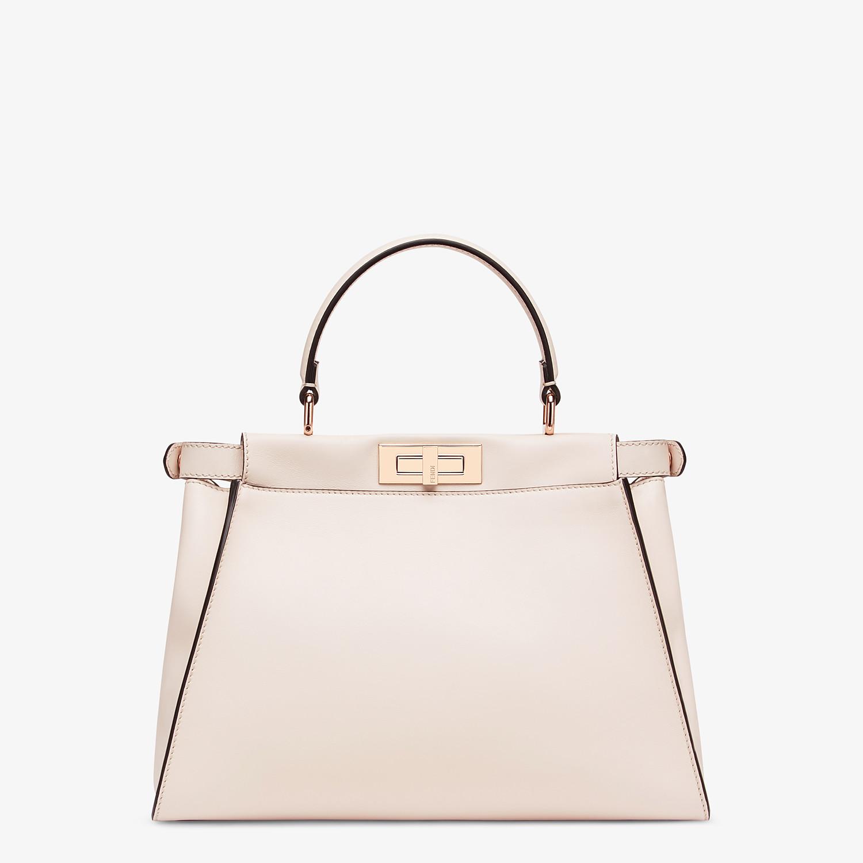 FENDI PEEKABOO ICONIC MEDIUM - Pink leather bag - view 3 detail