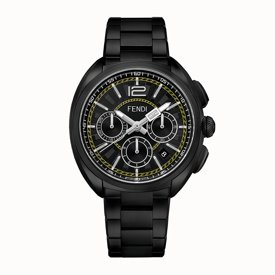 FENDI MOMENTO FENDI - 46 mm - Chronograph mit Metallarmband - view 1 detail