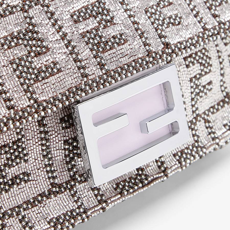 FENDI BAGUETTE - FF embroidery bag - view 5 detail