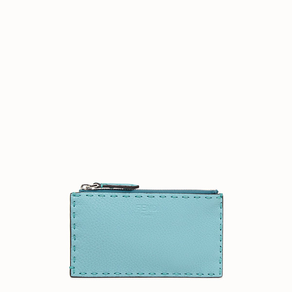 FENDI CARD POUCH - Fendi Roma Amor leather pouch - view 1 small thumbnail