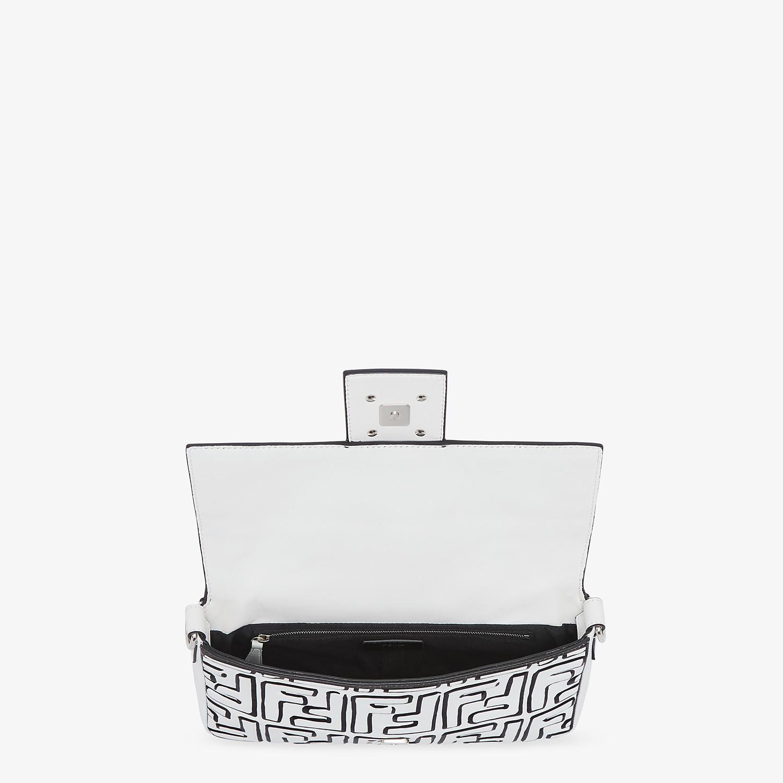 FENDI BAGUETTE - Fendi Roma Joshua Vides nappa leather bag - view 5 detail