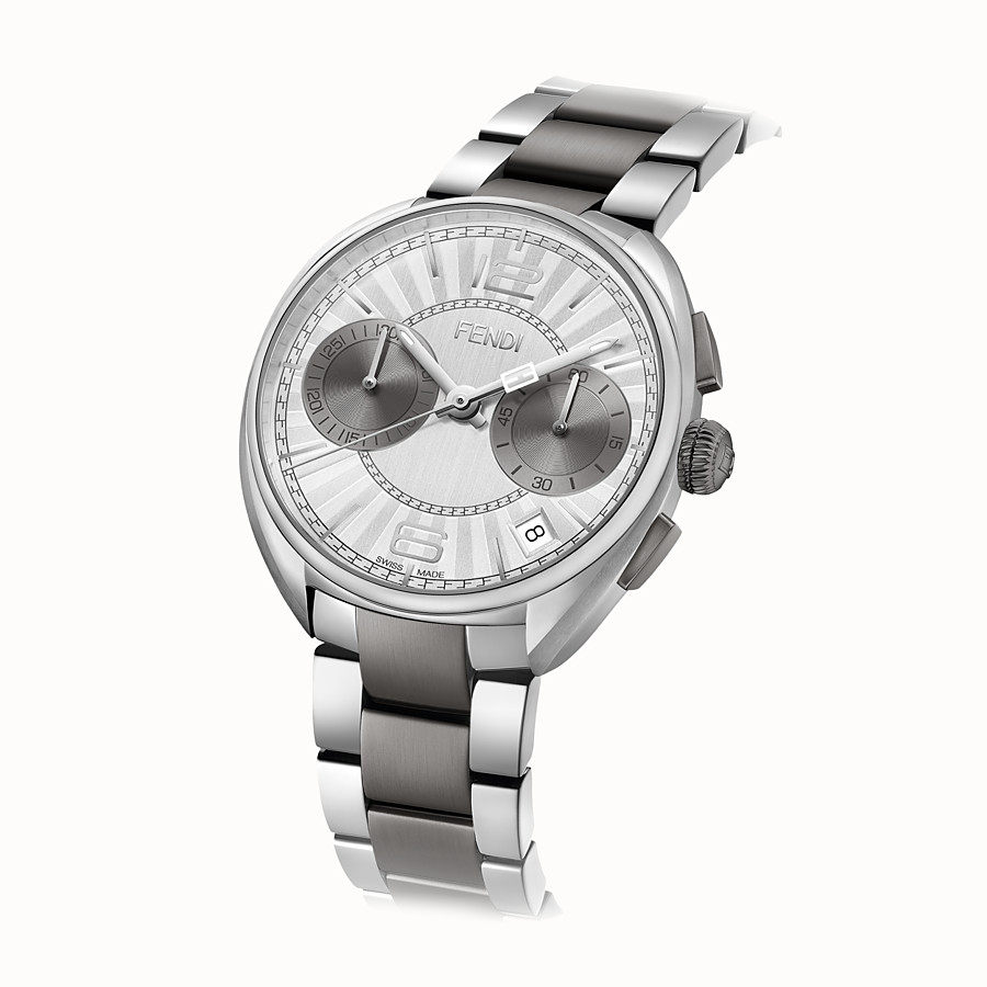 FENDI MOMENTO FENDI - 40 mm - Chronograph watch with bracelet - view 2 detail